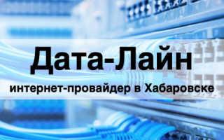 Дата-Лайн: обзор личного кабинета