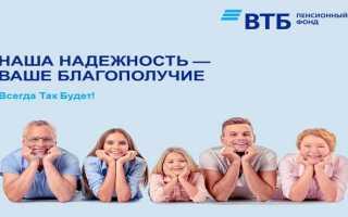 Пенсионный фонд ВТБ – как зарегистрировать личный кабинет и работать в нем