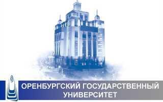 Оренбургский государственный университет (ОГУ): доступ к личному кабинету