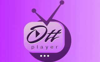 Личный кабинет на сайте ottplayer.es: регистрация аккаунта, вход в профиль