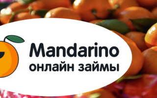 Мандарин Займ: регистрация личного кабинета, вход, функционал