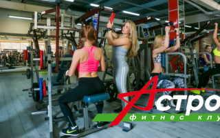 Личный кабинет сети фитнес-клубов Астрон: регистрация и возможности