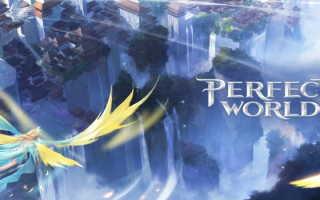 Perfect World: регистрация и возможности личного кабинета