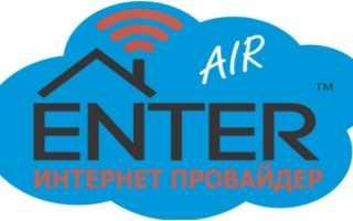 Компания «ENTER»: регистрация и функции личного кабинета