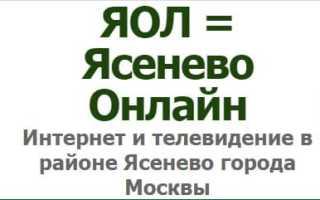 Личный кабинет ЯОЛ Ясенево: инструкция для входа, функции аккаунта