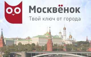 Функциональные преимущества сервиса «Москвенок» для родителей