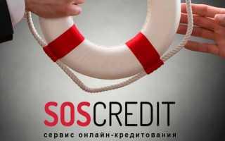 SOS Credit: регистрация личного кабинета, вход, функционал