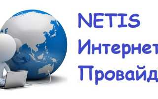 Войти в личный кабинет компании Netis