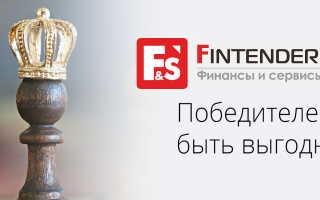 Личный кабинет Финтендер: регистрация и функционал