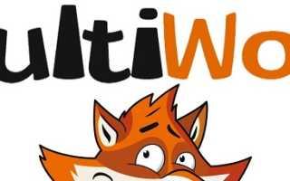 Личный кабинет на сайте Multiwork.org: регистрация аккаунта, возможности профиля
