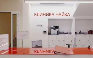 Клиника «Чайка»: работа посредством Личного кабинета