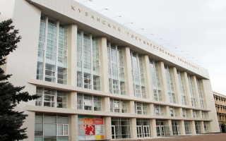 Регистрация и вход в личный кабинет КубГУ