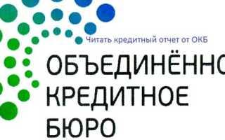 Личный кабинет ОКБ: инструкция по авторизации, преимущества аккаунта