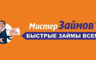 Вход и возможности личного кабинета МФО «Мистер Займ»