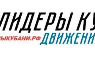 Лидеры Кубани: участие в конкурсе, вход в личный кабинет