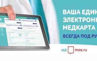 Электронная медицинская карта: регистрация и возможности личного кабинета