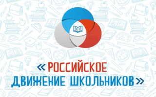 Регистрация и вход в личный кабинет РДШ