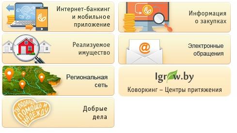 белагропромбанк услуги