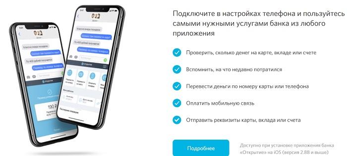 мобильное приложение открытие