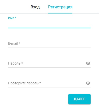 Дримкас регистрация