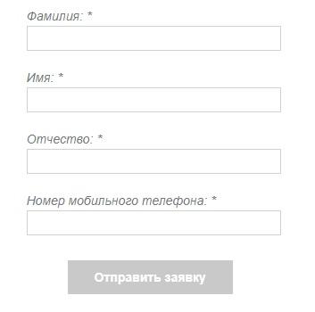ИТНЕТ заявка