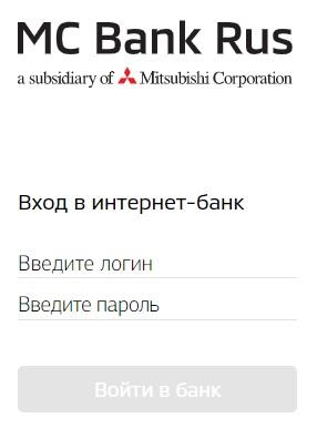 мс банк рус вход