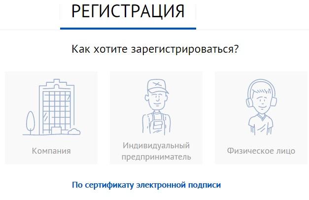 СБИС регистрация