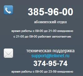 Теликс контакты