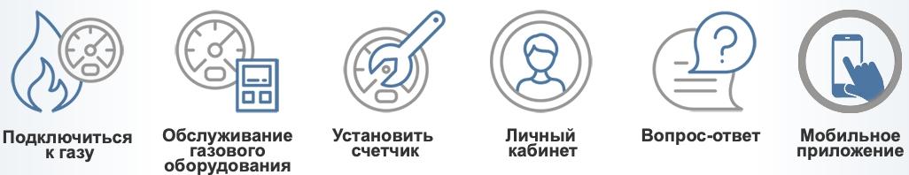 Функционал Газком74