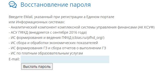 Cbias.ru пароль