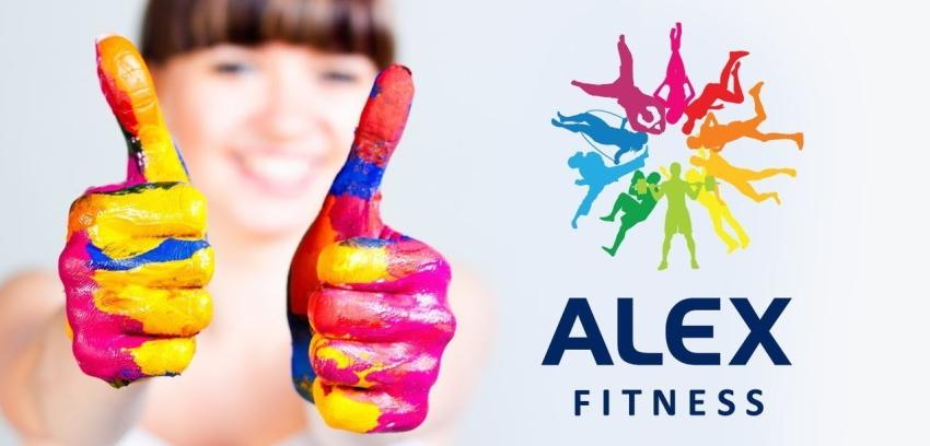 Алекс фитнес лого