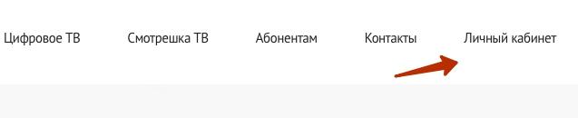 Кнопка лК Датасфера Телеком