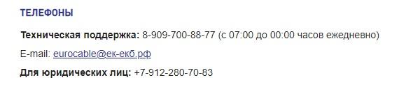 Sevencom контакты